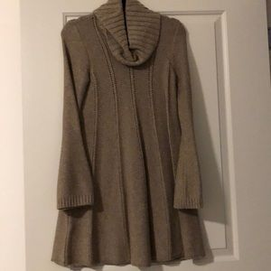 BCBG A line sweater dress